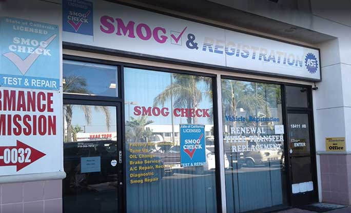 Auto repair shop in Torrance - Smog And Registration